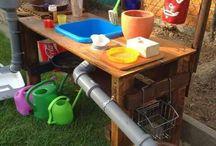 Utomhuskök för barn