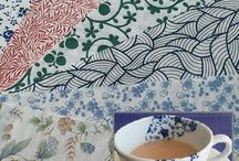 Ceramic Transfer Papers / Showcasing our beautiful Japanese tissue transfers or rice paper decals in clay and other projects