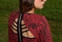 Cropped - detalhe nas costas / Cropped com detalhe nas costas, com tecido mais grosso, para o friozinho com estilo.