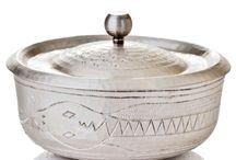 Copper & Silver Decor Items, Accents ecc... / Silver Plated accents in copper