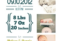 Newborn announcements
