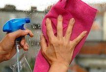 Limpar a janela de casa