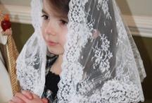 Mantilla First Communion