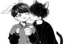 BTS / 방탄소년단 / Yoongi x Jungkook
