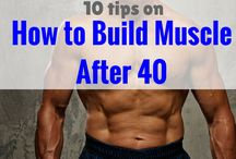 build muscle after 40