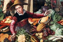 Pieter Aertsen / Paintings of Pieter Aertsen as Canvas Print and Oil Painting Reproduction. That Are Presented Modarty Art Gallery. #art, #canvas, #design, #painting, #print, #poster, #decoration