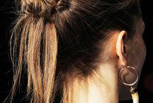 Verschiedene Frisuren