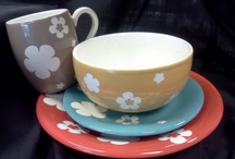Everyday Dinnerware / Hand-painted cups, plates, bowls and platters you can use everyday.