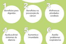 Benefícios para saúde