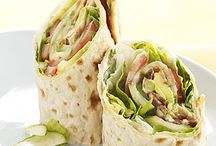 Sandwiches/Wraps / by Holly Hayes Norwood