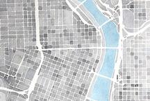 Landkaarten in de kunst / Persoonlijk