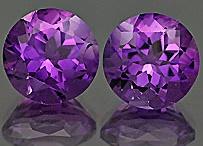 Fialové drahokamy / Fialové drahokamy. Přírodní a vyrobené drahé kameny fialové barvy. Šperky zdobené fialovými drahokamy. Fialové drahokamy do šperků a šperky s nimi.