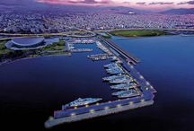 Piraeus - Peace and Friendship Stadium Marina (Athens Marina) / Ιt was founded in June 2004, to accommodate the yachts of VIP visitors to the 2004 Olympic Games. The marina has a mooring capacity of 130 yachts and can accommodate yachts up to 130m, with over 10 berths for mega yachts of 50m up to 100m and over 25 new berths for super yachts of 30m to 35m.