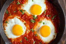 Receitas com ovos e tomate