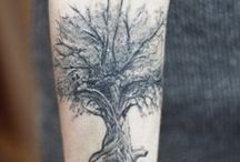 Tatuaggi alberi