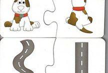 kleuter  puzzels