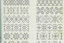 Strikke mønster