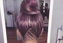 fkn' cool haircut/hair color