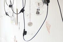 Lighting / Erilaisia valaistusideoita