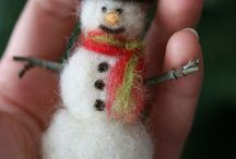 Holiday & wool! / Inspiration for holiday crafts with... wool!