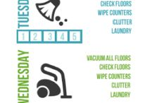 Cleaning & Organizing / by Kathryn Biggs