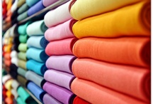 Vibrant Fabrics / Vibrant fabrics offer an opportunity to express your joy for life! Create a bold interior with colorful fabrics