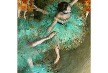 """Edgar Degas / Degas's  """"ballerinas """" and other masterpieces."""
