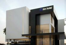 Fachadas hotel