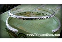 Graduation Gifts / Graduation Gifts with inspirational quotes from Toby and Max Jewelry / by TobyandMax Jewelry