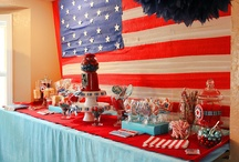 4th of July Ideas / Recipes and party ideas for 4th of July celebrations