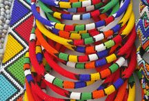 Ethically made Zulu seed beads