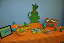 Scooby Doo B-day party
