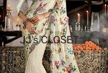 Designer Sarees from JJ's CLOSET