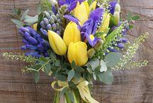 Svatební kytice cibuloviny