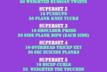 Fitness / Exercize and healthy stuff! / by Angela Peach