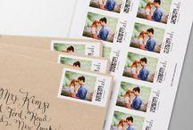 Bryllups invitasjoner/bordkort/meny