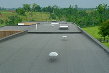 Flat Roof Design / Are you designing a home or building that features a flat roof?  There are number of different options to protect your flat roof design with waterproofing membrane.  Check out the options from Viking Roofspec