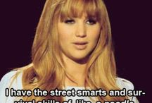 Jennifer Lawrence you funny idiot