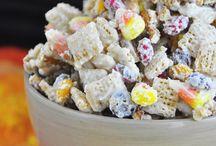 Chex Mix/Popcorn Treats