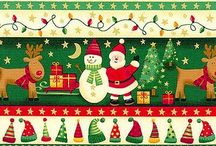 Papeles de scrap de Navidad para imprimir