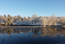 Perthshire in the snow / Beautiful photos and walks around Perthshire in the Christmas winter snow.
