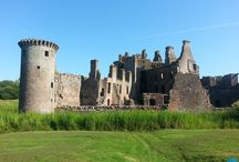 Great Scottish Castles - Caerlaverock / One of the best castles in Scotland, #Caerlaverock in Dumfries and Galloway.