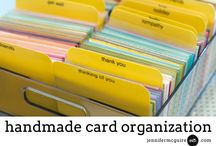 TECHNIQUE: Organization / Organizational tips for cardmaking