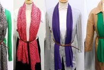 How To Wear Your Scarf / How to wear your scarf this Autumn