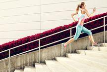 Running photography / Inspiration for taking stunning running photos