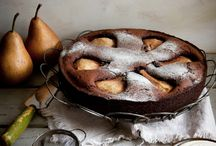 Pear Eats + Sweets / Any and all recipes containing pears...cakes, scones, salads, appetizers...