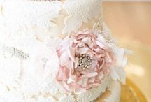 Rustic Lace Wedding Inspiration / Wedding details featuring lace and a touch of rustic.