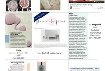 In the press / Our favourite products and treatments are loved everywhere!