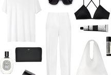 monochrome outfits