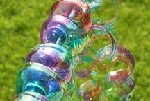 Wasserflaschenbasteleien